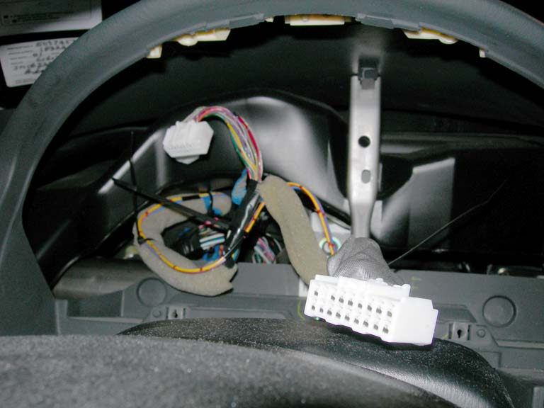 protegé foot lamp how to cut off all excess portions of zip ties 20 reconnect gauge cluster but do not reinstall it yet 21 reconnect battery